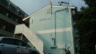 埼玉県入間郡毛呂山町大字下川原の賃貸アパートの外観