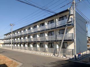 埼玉県東松山市美原町2丁目の賃貸マンションの外観