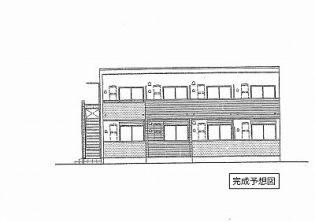 埼玉県久喜市久喜東2丁目の賃貸アパートの外観
