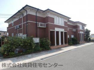 和歌山県橋本市高野口町伏原の賃貸アパートの外観